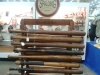 Original early Louisville Slugger bat rack