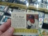 Jello box with Ernie Banks on back 1962