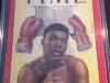 Ali autographed TIME Magazine