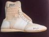 Ali autographed boxing shoe