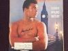 Muhammad Ali signed Sports Illustrated magazine