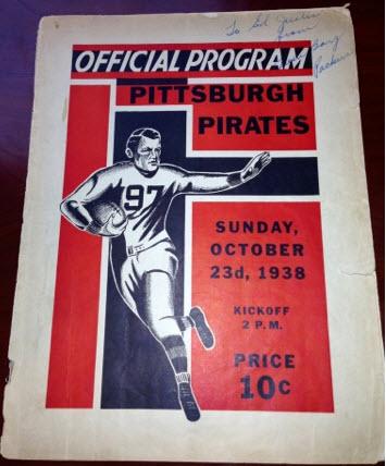 packersprogram1938