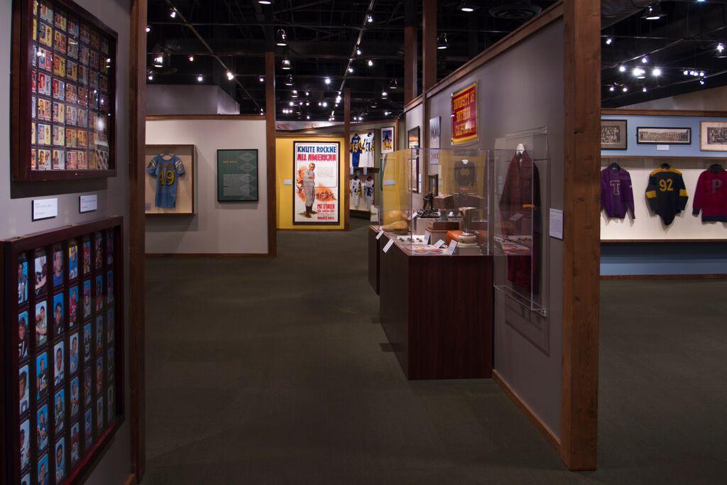 Football Exhibit Regan Library