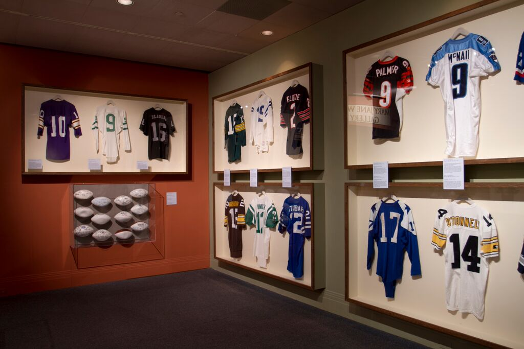 NFL Jerseys and Game Balls