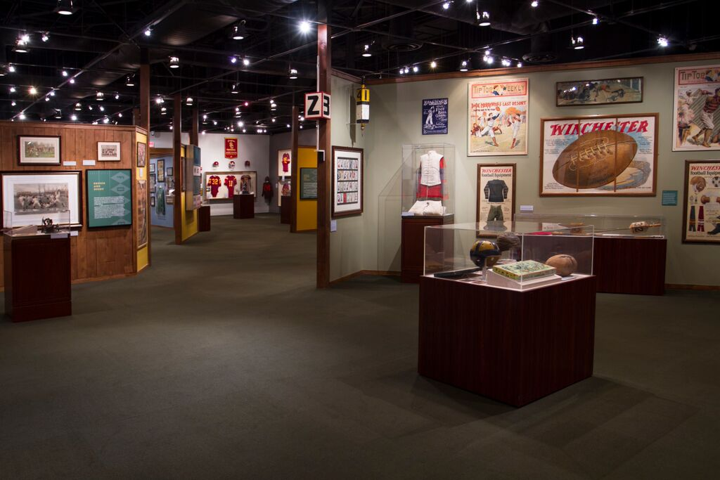 Reagan Library Football Exhibit Rooms