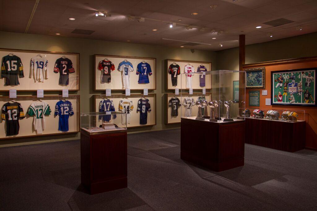 Reagan Library Football Exhibit