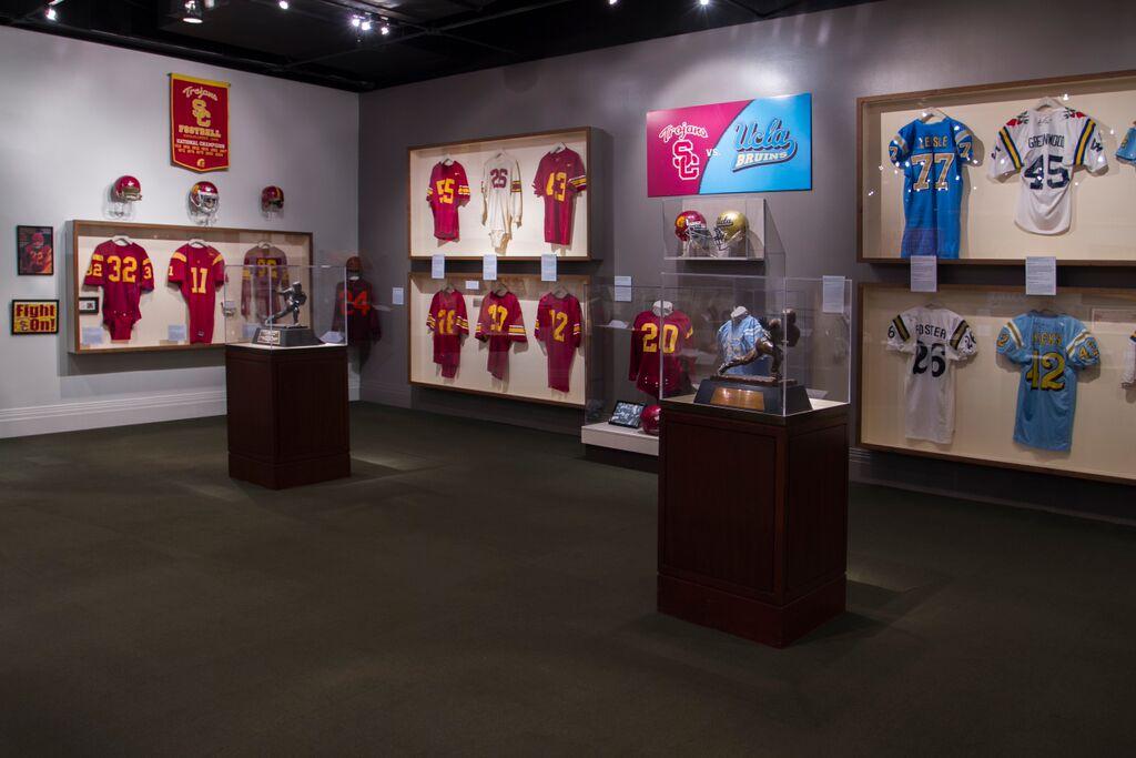 UCLA-USC football memorabilia