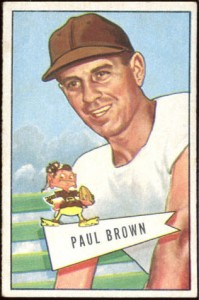 Paul Brown 1951 Bowman small