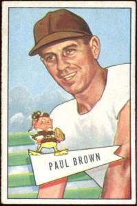 Paul Brown 1951 Bowman small