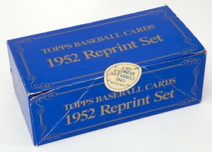 Topps 1952 Reprint factory set