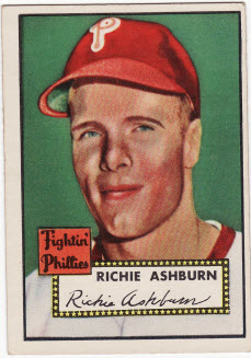 1952 Topps baseball Richie Ashburn