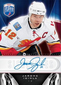 Be a Player Hockey Jarome Iginla autograph