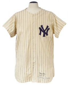 1955 Mickey Mantle jersey
