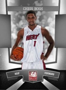 2010 Panini Chris Bosh wrapper redemption card