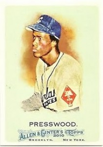 2010 Allen and Ginter Hank Presswood