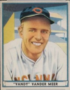 1941 Play Ball Johnny Vander Meer