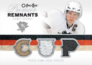 Crosby Triple Jersey Card