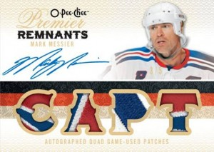 Messier Auto Premier Remnants Card