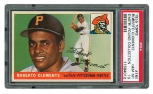 1955 Topps Roberto Clemente PSA 10