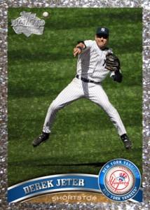 2011 Topps Platinum Diamond Anniversary Parallel Jeter