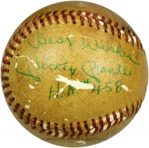 Mickey Mantle 458th home run ball