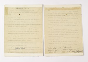 Naismith Original Basketball Rules to be Sold | Sports Collectors ...