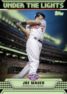 Topps Opening Day Under the Lights Mauer