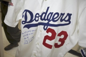 Kirk Gibson 1988 World Series jersey