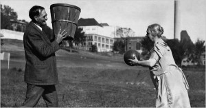 James Naismith and his wife