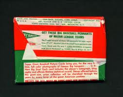 1952 Topps wax pack back