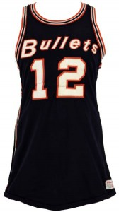 1960s Baltimore Bullets jersey