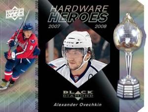 2010-11 Black Diamond Hardware Heroes - Alex Ovechkin