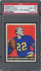 1948 Leaf Bobby Layne