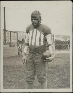 1920s Babe Ruth football photo