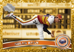 Canary Diamond Anniversary Short Printed Parallel Nolan Ryan