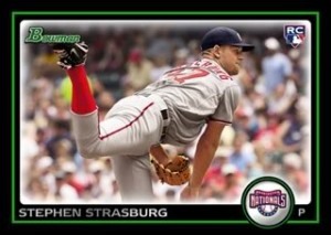 Strasburg rookie card