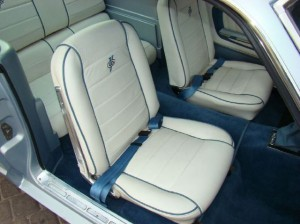 1965 Mustang seats