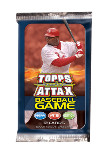 2011 Topps Attax Baseball Pack