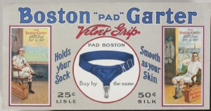 Boston Garter ad with Chase and Collins
