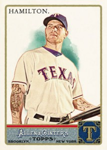 2011 Allen and Ginter Josh Hamilton
