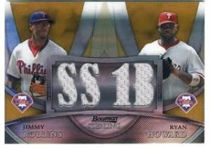 2010 Bowman Sterling Rollins Howard relic