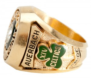 NBA championship ring Red Auerbach