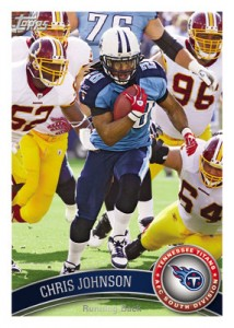 2011 Topps Chris Johnson
