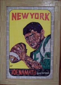 """Broadway"" 1965 Topps art by Tim Carroll"