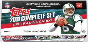 Topps 2011 hobby factory football card set