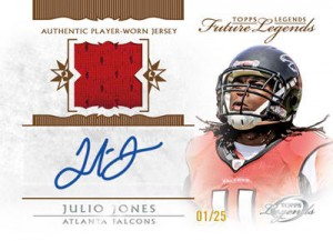 Julio Jones 2011 Gridiron Legends autograph