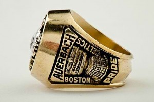 1976 Celtics NBA Championship ring Auerbach