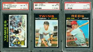 Baseball cards 1971 Topps