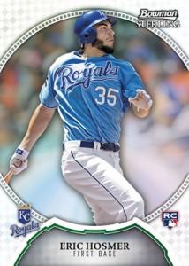 Hosmer 2011 Bowman Sterling baseball card