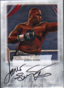 2011 Ringside Boxing Toney autograph